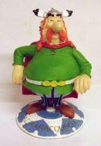 Asterix - Atlas Plastoy - Resine figures - Majestix