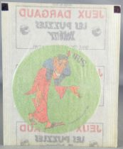 (Asterix - Autocollant Dargaud 1976 Les 12 Travaux - Iris Neuf sous Pochette