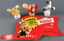 Asterix - Babybel Top Pencil - Completet Set Asterix Obelix Idefix