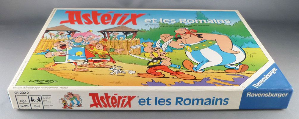 Asterix - Board Game - Asterix and the Romans