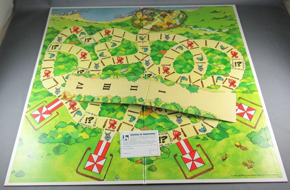 Asterix - Board Game - Obelix vs Hattack - Nathan 1996