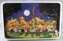 Asterix - Boite à gâteaux rectangulaire Delacre - Le Banquet