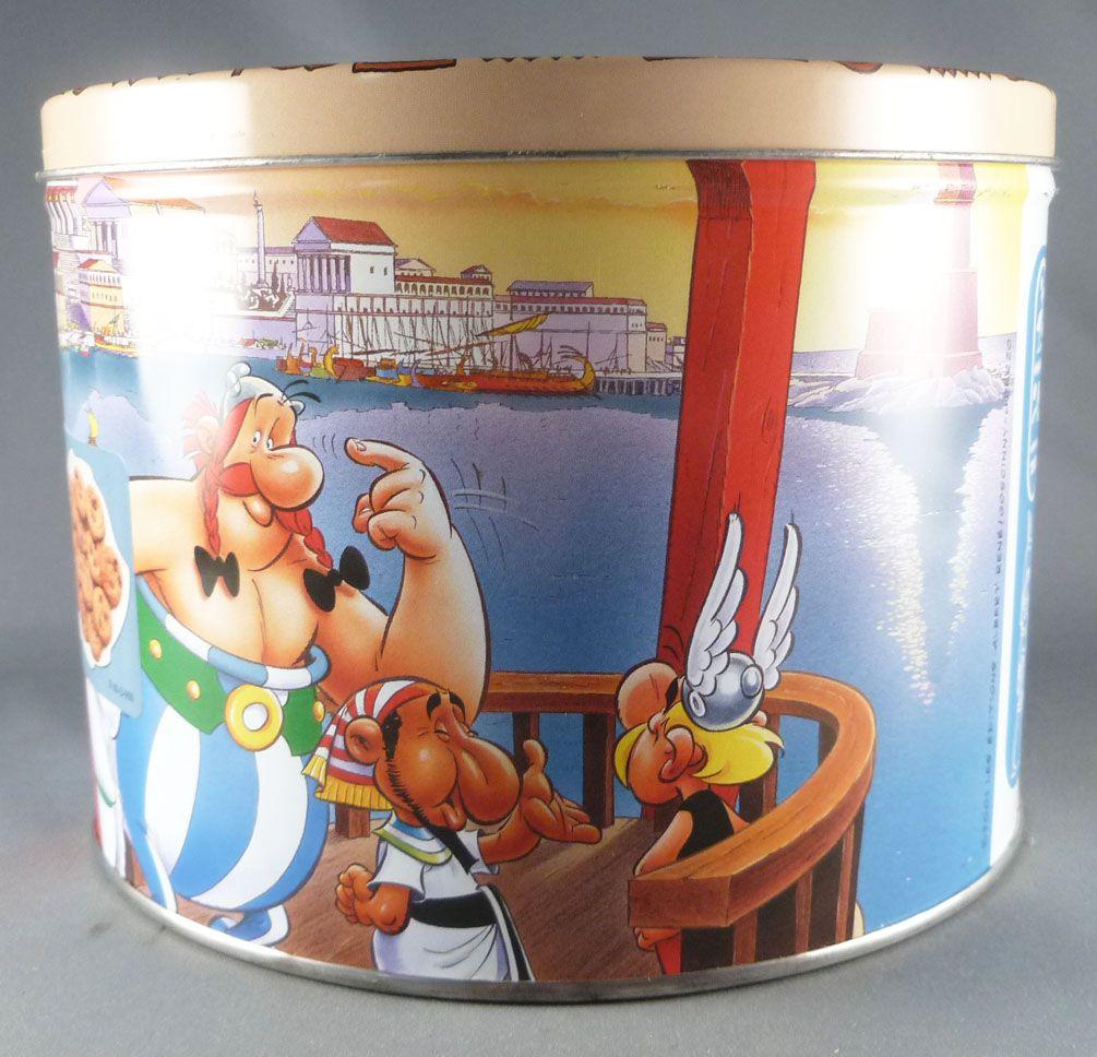 Asterix - Boite à gâteaux ronde Delacre - Asterix et Cleopatre