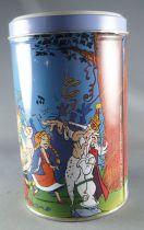 Asterix - Boite à gâteaux Tube rond Delacre - La Soirée Musicale