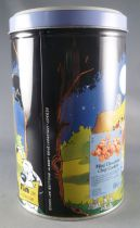 Asterix - Boite à gâteaux Tube rond Delacre - Le Banquet