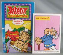 Asterix - Boite Carton Bubble Gum + Autocollant - César