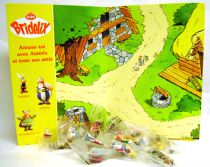Asterix - Bridelix Plastoy 1999 - Série complète de 10 Figurines (+ 1) avec Plateau de jeu