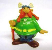 Asterix - Bully 1974 - PVC Figure - Majestix