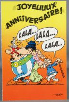 Asterix - Carte Postale Albert René Goscinny Uderzo 1989 - Joyeuuux Anniversaire