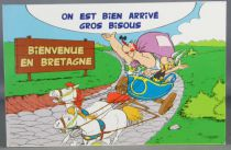 Asterix - Carte Postale Editions d\'Art Albert René Goscinny Uderzo 2002 - HM216 Bienvenue en Bretagne
