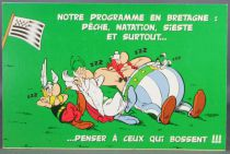 Asterix - Carte Postale Editions d\'Art Albert René Goscinny Uderzo 2002 - HM224 Programme Bretagne