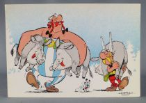 Asterix - Carte Postale Franceco Albert René Goscinny Uderzo1984 - Retour de chasse