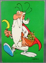 Asterix - Carte Postale Publicitaire Iglo 1967 - Panoramix