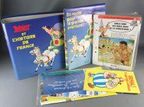 Asterix - Classeur & Fiches + Divers Atlas 1997 - Astérix & l\'Histoire de France Neuf sous Pochette