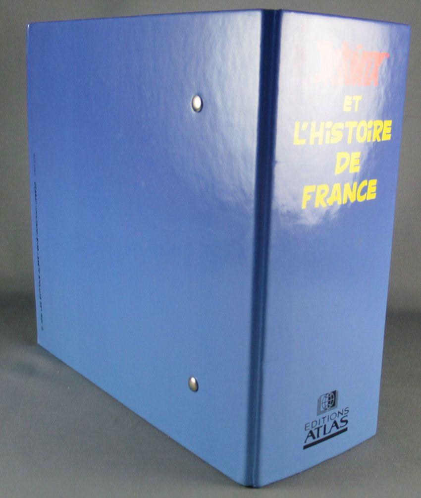 Asterix - Classeur & Fiches Atlas 1997 - Astérix & l\'Histoire de France