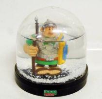 Asterix - Comic Spain - PVC Figure - Legionary (Snow Globe - Parc Asterix Exclusive)