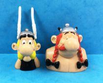 Asterix - Comics Spain - Figurine PVC - Bustes Asterix et Obelix