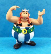Asterix - Comics Spain - Figurine PVC - Obelix \'\'Ils sont fous ces Romains\'\'