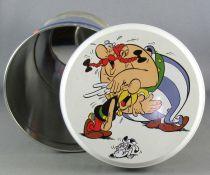 Asterix - Cookies Tin Round box 2001 - The Banquet Obelix