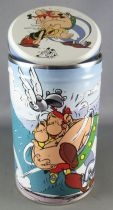 Asterix - Cookies Tin Round box 2001 - The Hug