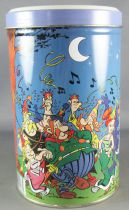 Asterix - Cookies Tin Round box 2001 - The Party