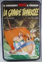 Asterix - Delacre Tin Cookie Box (Rectangular) - The Great Crossing