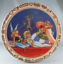 Asterix - Delacre Tin Cookie Box (Rond) - Asterix and Cleopater