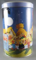 Asterix - Delacre Tin Cookie Box (Rond Tube) - The Banquet