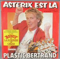 Asterix - Disque 45T Astérix est Là Plastic Bertrand Cosma