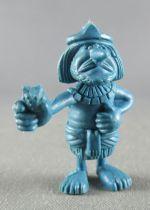 Asterix - Dupont d\'Isigny 1969 - Figurine Monochrome - Egyptien Chef Caravane (Bleu)