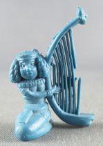 Asterix - Dupont d\'Isigny 1969 - Figurine Monochrome - Harpiste égyptienne (Bleu)