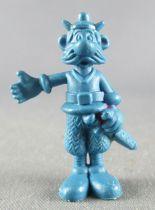Asterix - Dupont d\'Isigny 1969 - Figurine Monochrome - Jolitorax (Bleu)