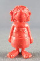 Asterix - Dupont d\'Isigny 1969 - Figurine Monochrome - Ouvrier égyptien (Marron)