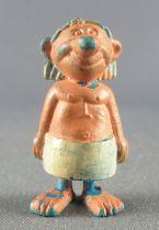 Asterix - Dupont d\'Isigny 1969 - Figurine Monochrome - Ouvrier égyptien (Peint)