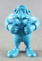 Asterix - Dupont d\'Isigny 1969 - Figurine Monochrome - Rugbyman Camulodunum (Bleu)