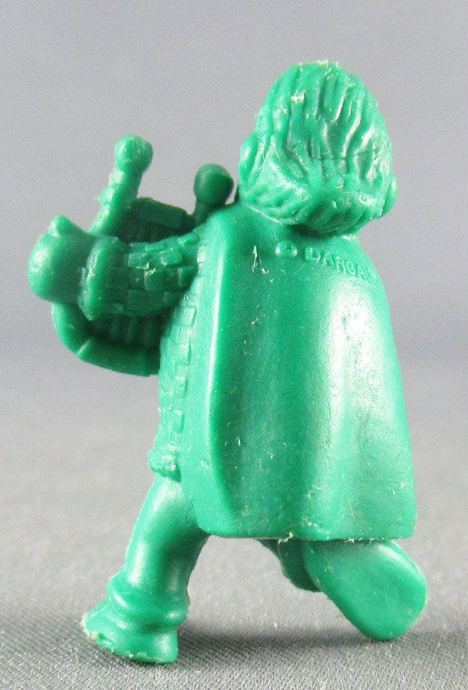 Asterix - Dupont d\'Isigny 1969 - Monochromic Figure - Cacofonix (Green)