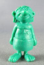 Asterix - Dupont d\'Isigny 1969 - Monochromic Figure - Egytian worker\'s (Green)