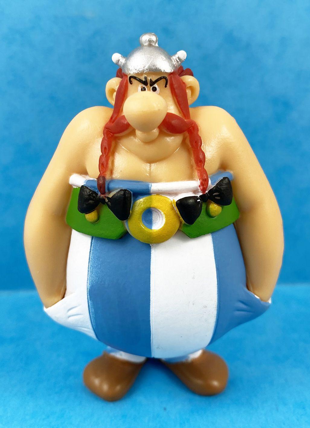 Astérix - Figurine PVC Plastoy - Obelix boude