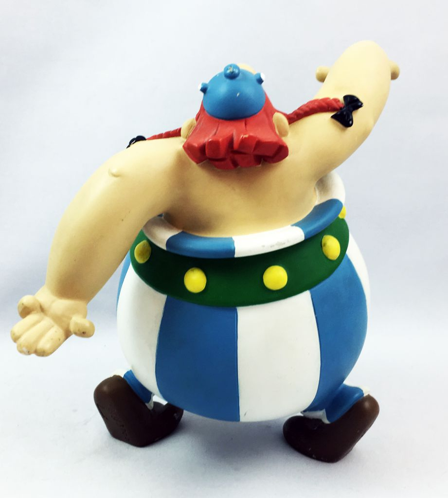 Asterix - Figurine Résine Leblon Delienne 1997 - Obelix dansant