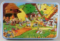 Asterix - Flat rectangular Box - The Village