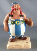 Asterix - Heimog / Paper Mate - Figurine PVC - Obelix sur socle Porte Crayon