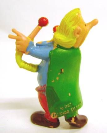 Asterix - Huilor 1967 - Premium Figure - Troubadix