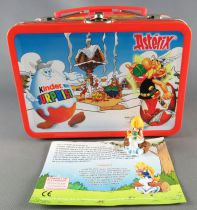 Asterix - Kinder Suprise Ferrero 2003 - Panacea Figure + Metal Mini Lunchbox