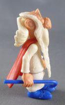 Asterix - Kinder Surprise Ferrero 1990 - K91 N12 Swoppet Figure - Getafix the druid with Stick