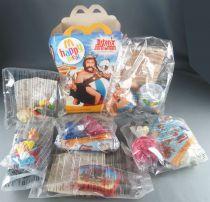 Asterix - McDonald\'s 2008 - Axterix aux Jeux Olympiques Série complète 6 Figurines Neuves Sachet