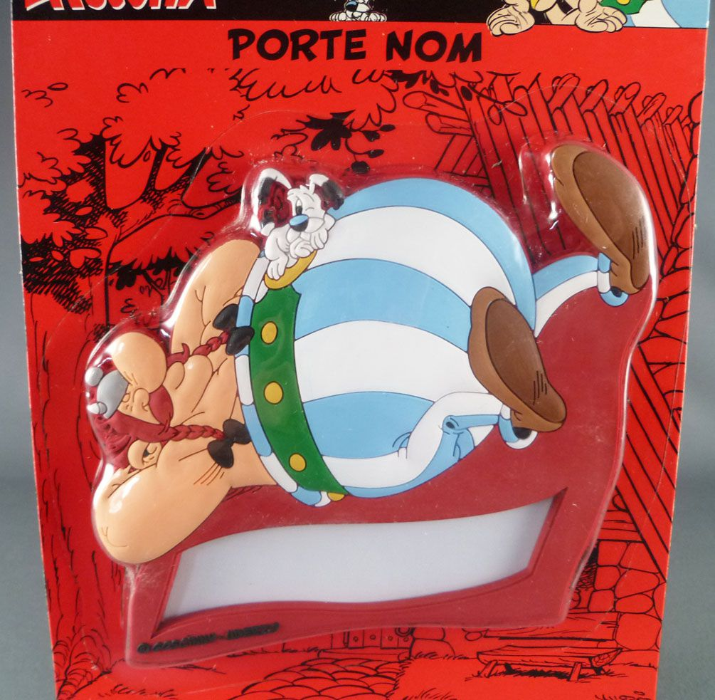 Asterix - Mint on Card Door Name Holder + Sticker - Impedimenta