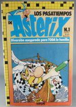 Asterix - Mots Croisés Los Pasatiempos de Asterix N°1 1985 - Etat Neuf