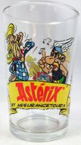 Asterix - Mustard glass Amora 2000 - #5 Asterix and Cacofonix
