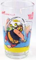 Asterix - Mustard glass Maille 1990 - n°5 Fish Fight