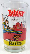 Asterix - Mustard glass Maille 1990 - n°7 The flying carpet